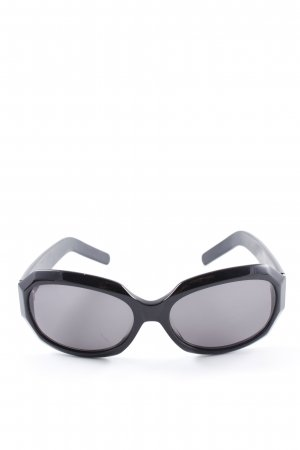 Vera Wang eckige Sonnenbrille schwarz Casual-Look