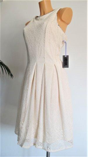 Vera Mont Vestido strapless multicolor tejido mezclado