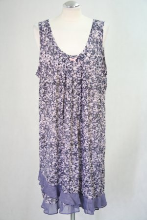Vera Wang Kleid mit Muster