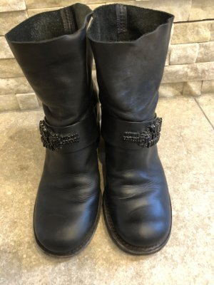 Vera Wang Boots black leather