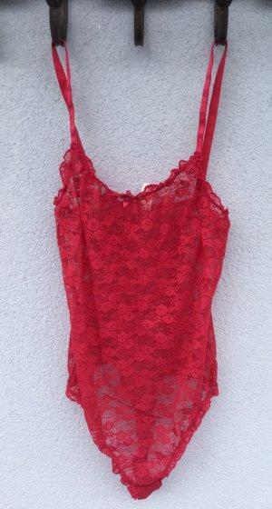 100% Fashion Soutien-gorge rouge framboise