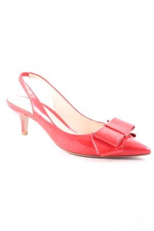 VERGELIO Décolleté modello chanel rosso chiaro stile professionale