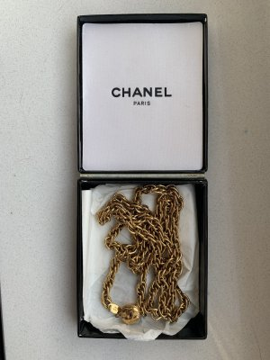 Vergolden 24K Chanel Kette