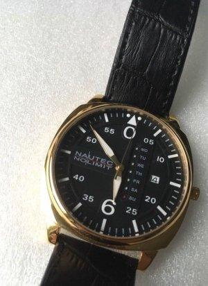Vergoldete Armbanduhr by Nautec