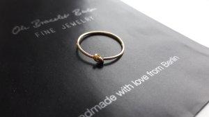 Zilveren ring goud Zilver