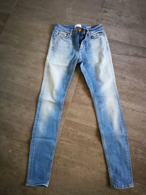 Closed Hoge taille jeans azuur