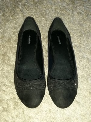 Graceland Ballerinas with Toecap black