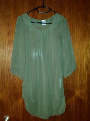 Verkaufe 3/4 Bluse von VERO MODA Gr. M in kaki - einmal getragen