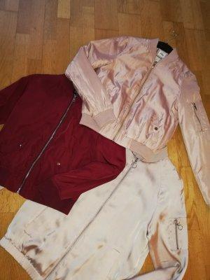 Pimkie Giacca bomber color oro rosa-bordeaux