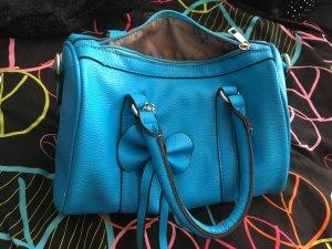 Verkaufe auffaellige blaue Handtasche