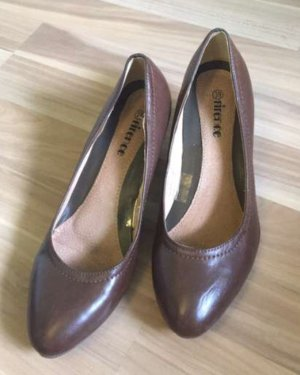 Verkaufe braune Pumps / High-Heels, Gr. 38