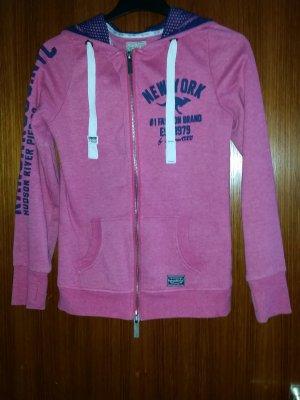 Verkaufe die gebrauchte Jacke von KANGAROOS Gr. 36/38 in pink