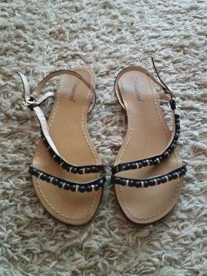 Verkaufe die Sandalen Größe 41 in schwarz von MARVEL - nur einmal getragen