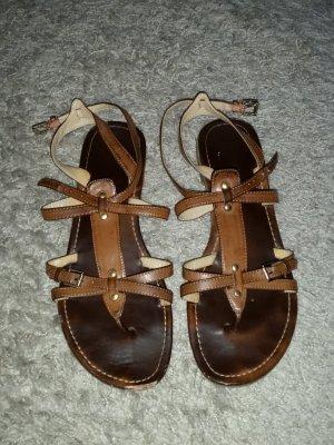 Verkaufe die Sandalen von GRACELAND in braum Gr. 41