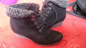 Botines negro-gris antracita