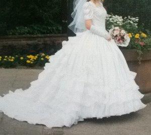 Verkaufe ein wünderschönes, romantisches Brautkleid