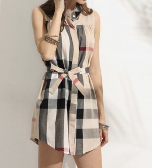 Verkaufe ein wunderschön kartiertes Kleid