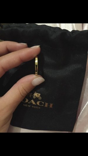 Verkaufe einen Coach Ring in Gold Gr. S/M