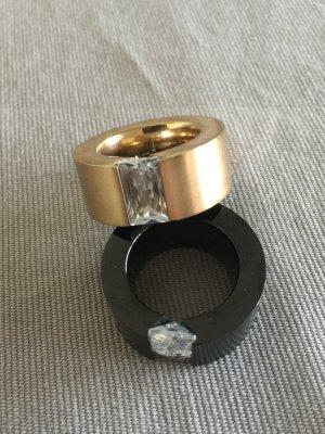 Verkaufe einen Roségold- Edelstahl Ring, Durchmesser ca. 18-19 mm,1cm Breite