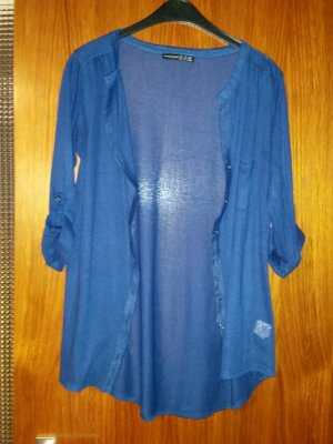 Verkaufe gebrauchte 3/4 Shirtjacke von ATMOSPHERE Gr. 38 in blau