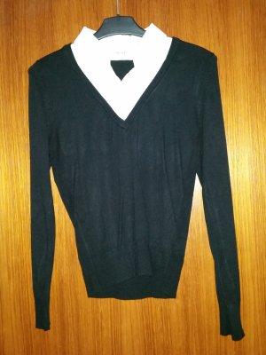 Verkaufe gebrauchte Pullover-Bluse 2 in 1 von ORSAY Gr. M
