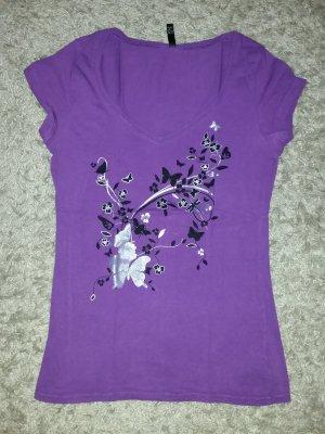 Verkaufe gebrauchtes lila Shirt Gr. M/38 von AMISU