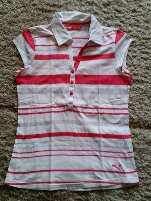 Verkaufe gestreiftes Shirt Gr. 38/M von PUMA mit kleinen Flecken