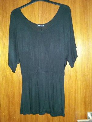 Verkaufe getragenes Strandkleid in schwarz Gr. 38 von MELROSE