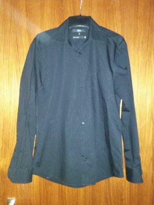 Verkaufe Hemd S. Oliver Gr. 39 in schwarz Langarm wie neu