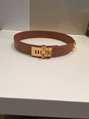 Hermès Leather Belt nude-beige
