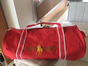 Verkaufe hier ein sehr schöne Sporttasche von Ralph Lauren. Farbe:Rot