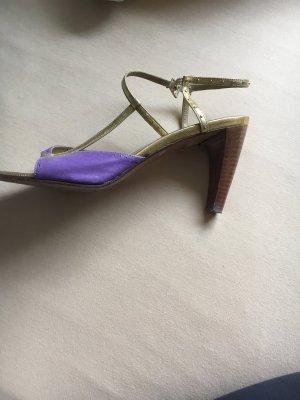 Verkaufe high Heels von Konstantin starke in Gold-lila!