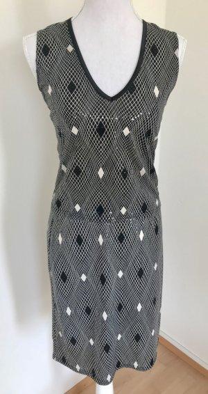 Ana Alcazar Dress black-white