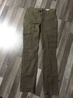 Burberry Pantalon cargo kaki