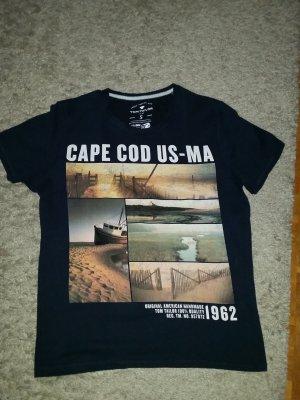 Verkaufe kaum getragenes Shirt Gr. S in dunkelblau von TOM TAILOR