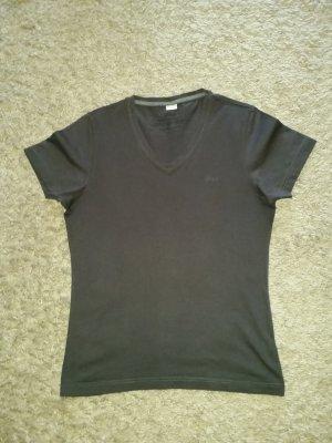 s.Oliver T-shirt gris foncé coton