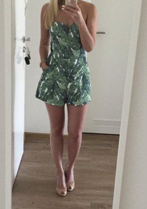 H&M Tuta bianco-verde