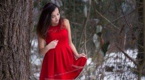 Verkaufe mein Rotes Kleid
