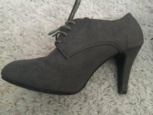 Verkaufe meine grauen Ankle Boots