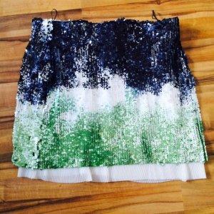 Verkaufe nie getragenen Paillettenrock von Zara Größe L