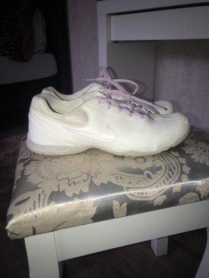 Nike Sneakers met veters wit-lila