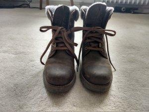 Panama jack Snow Boots brown-dark brown