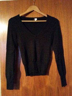 Verkaufe Pullover Gr. 40 in schwarz von H&M