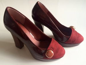 Verkaufe rote Pumps, High Heels, Vintage, Sommerkind! *neuwertig*