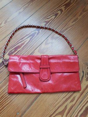 Verkaufe rote Schultertasche von abro