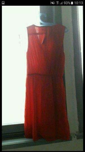 verkaufe rotes kleid