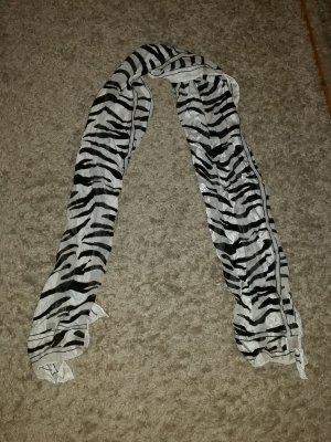 Verkaufe Schal schwarz-weiß