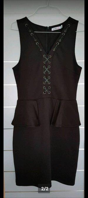 Verkaufe schickes schwarzes Abend Kleid Größe M von JustFAB