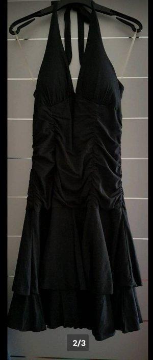 Benetton Off the shoulder jurk zwart