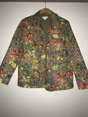 H&M Military Jacket multicolored